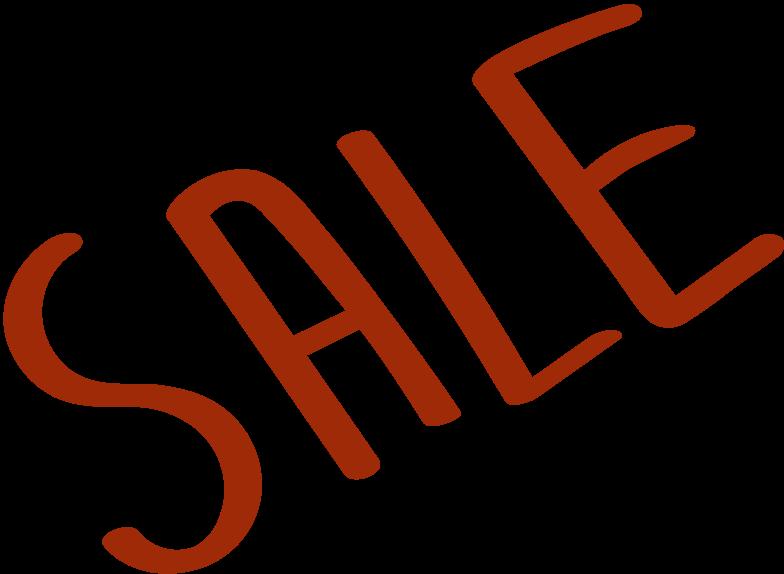 title sale Clipart illustration in PNG, SVG
