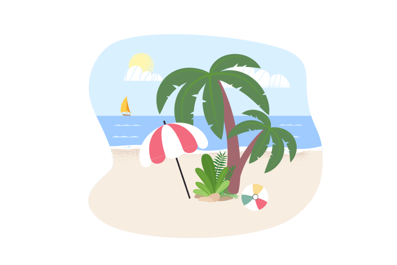 style Dream island Vector images in PNG and SVG | Icons8 Illustrations