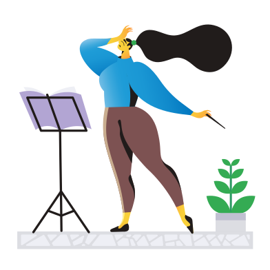 style Conductor images in PNG and SVG | Icons8 Illustrations