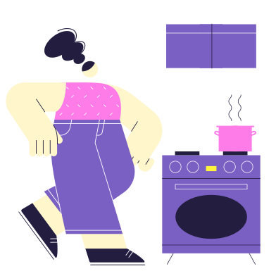style Home Cooking images in PNG and SVG | Icons8 Illustrations