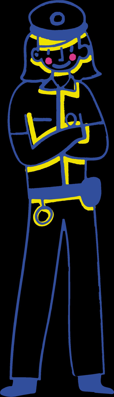 警官 のPNG、SVGクリップアートイラスト