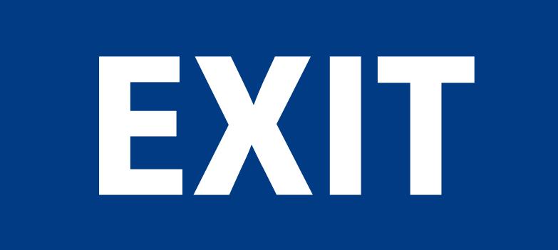 exit Clipart illustration in PNG, SVG