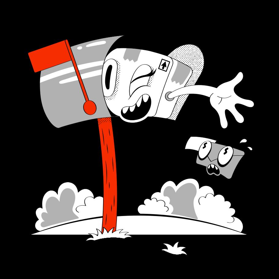 Order complete! Clipart illustration in PNG, SVG