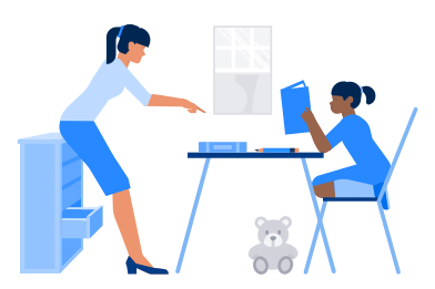 style Doing homework images in PNG and SVG | Icons8 Illustrations