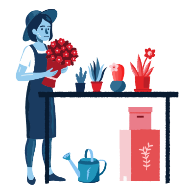 style Care about plants images in PNG and SVG | Icons8 Illustrations