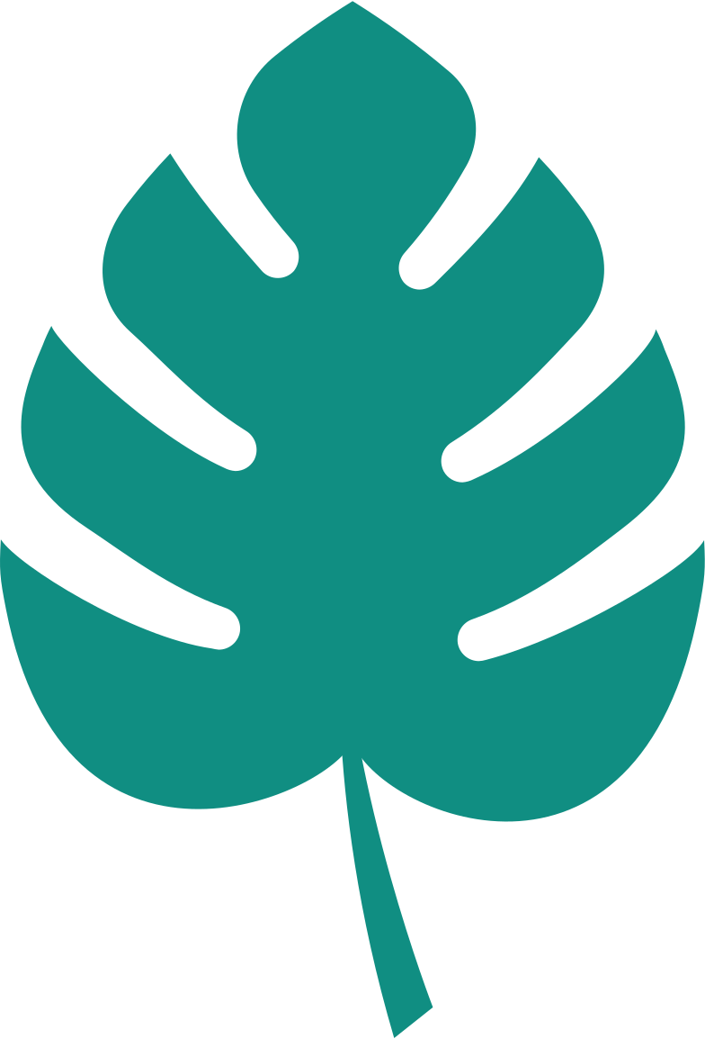 tropical leave Clipart illustration in PNG, SVG
