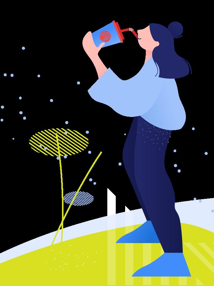 Nice drink Clipart illustration in PNG, SVG