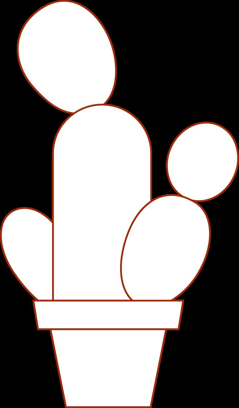 Клипарт Я в интернет-магазине кактус в PNG и SVG