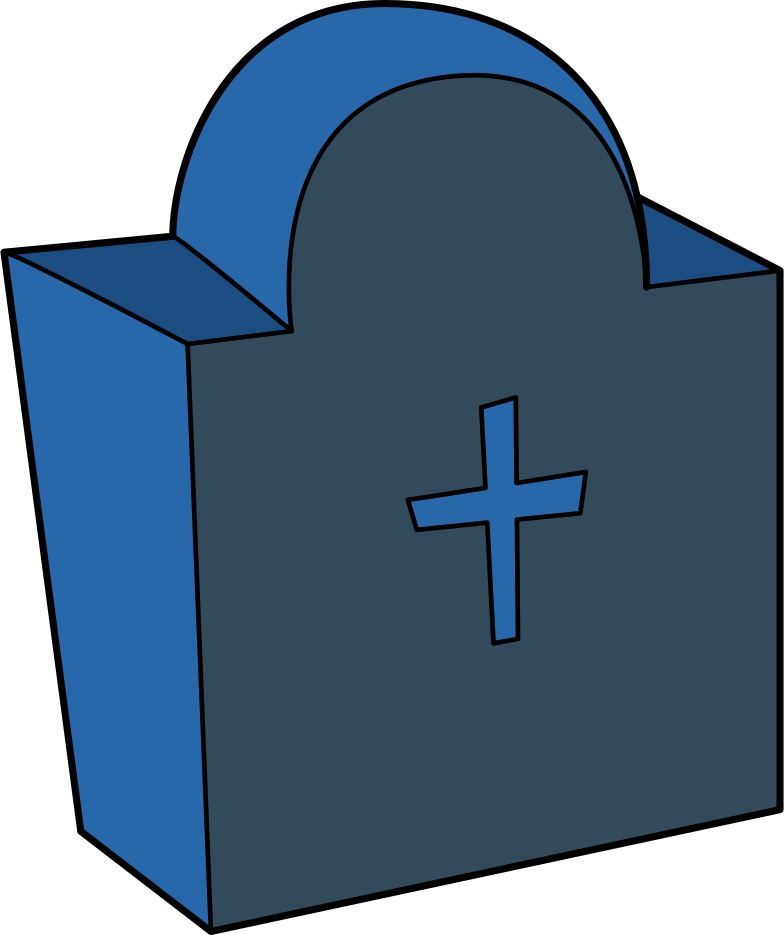 tombstone Clipart illustration in PNG, SVG