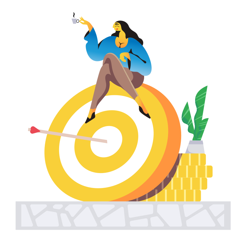style Finance goal Vector images in PNG and SVG | Icons8 Illustrations
