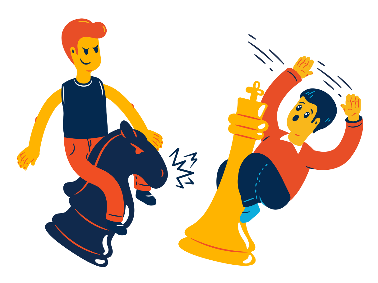 Winning chess Clipart illustration in PNG, SVG