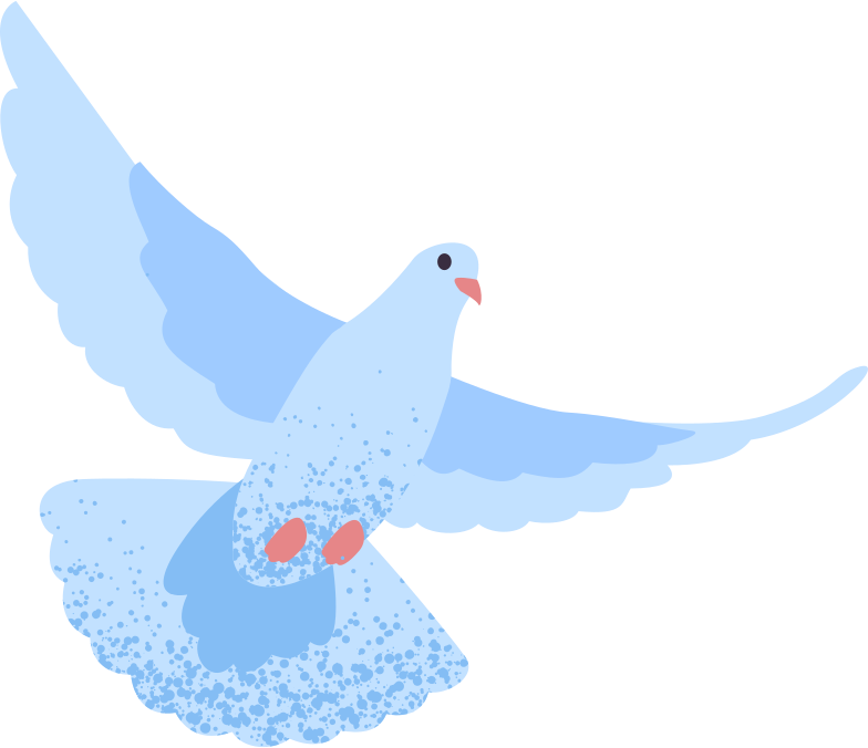 dove Clipart illustration in PNG, SVG