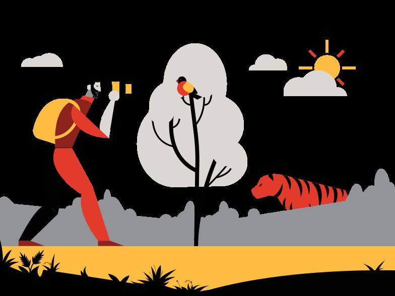 Situação perigosa Clipart illustration in PNG, SVG