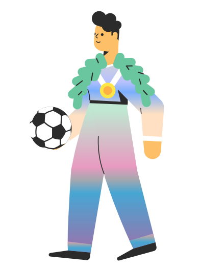 style Football player images in PNG and SVG | Icons8 Illustrations