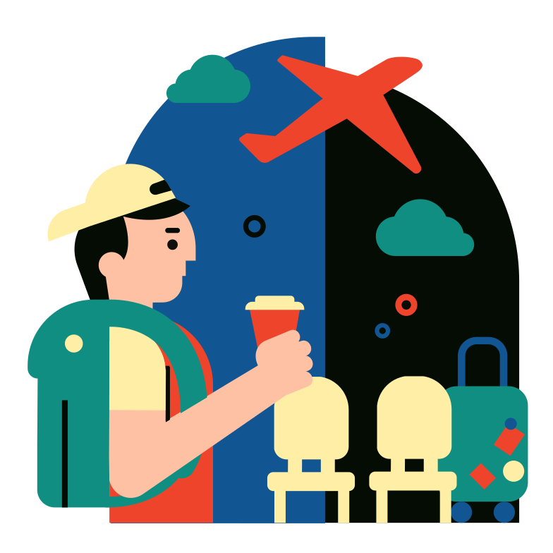style At the airport Vector images in PNG and SVG | Icons8 Illustrations