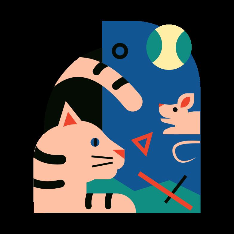 ペット のPNG、SVGクリップアートイラスト