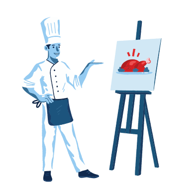 style Food painting images in PNG and SVG | Icons8 Illustrations