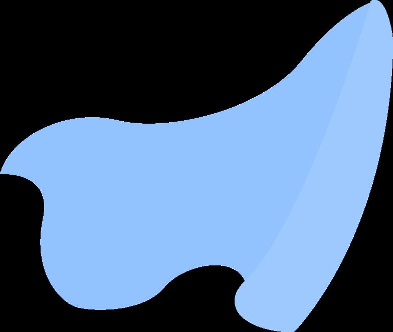 cloak Clipart illustration in PNG, SVG