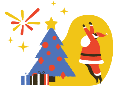 style It's Christmas time! images in PNG and SVG | Icons8 Illustrations