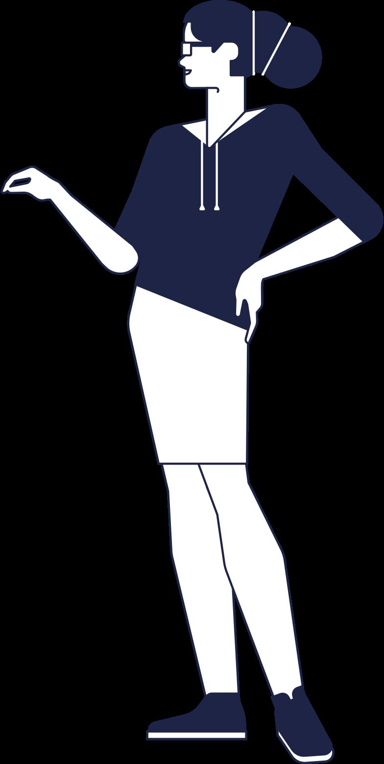 mom line Clipart illustration in PNG, SVG