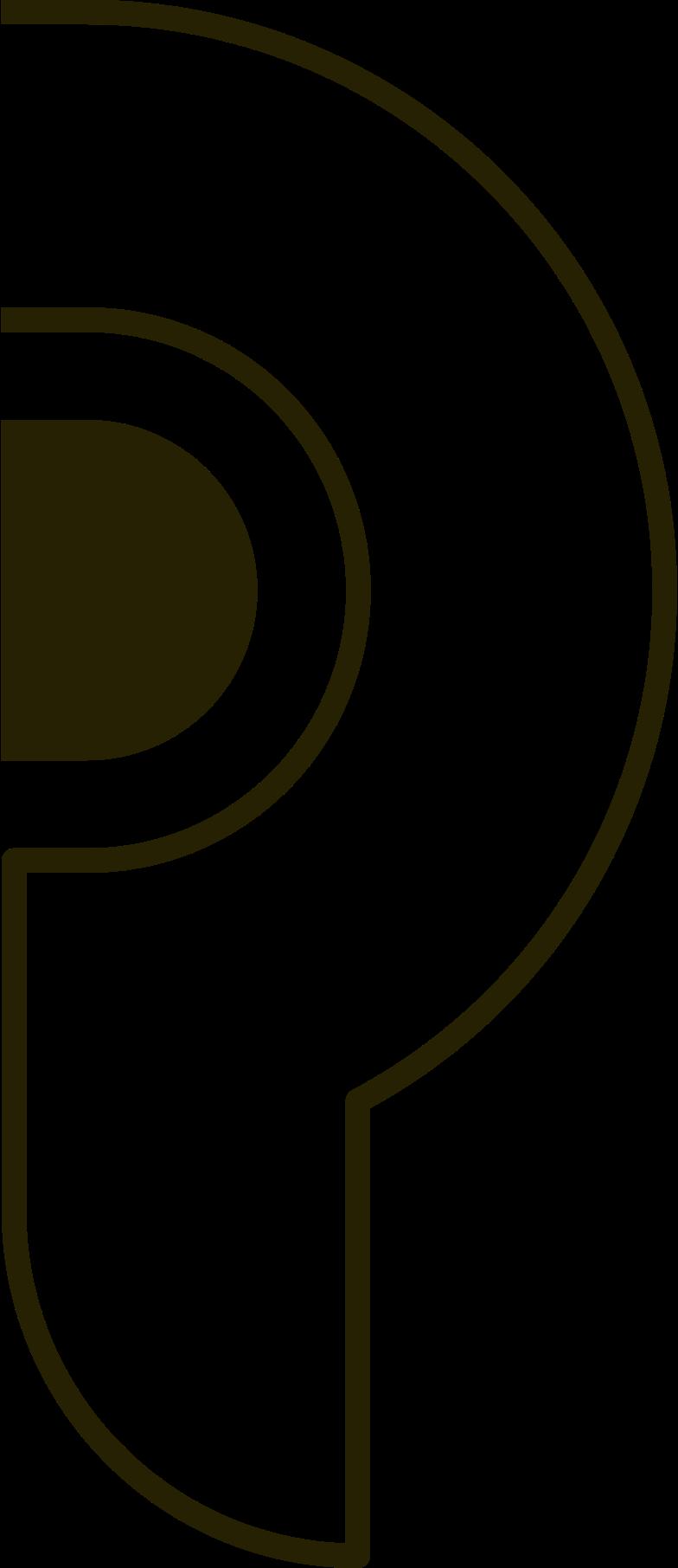 ear Clipart illustration in PNG, SVG
