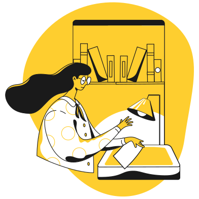 style Librarian images in PNG and SVG | Icons8 Illustrations