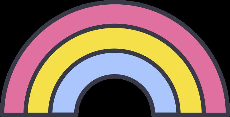 Imágenes vectoriales arco iris en PNG y SVG estilo  | Ilustraciones Icons8