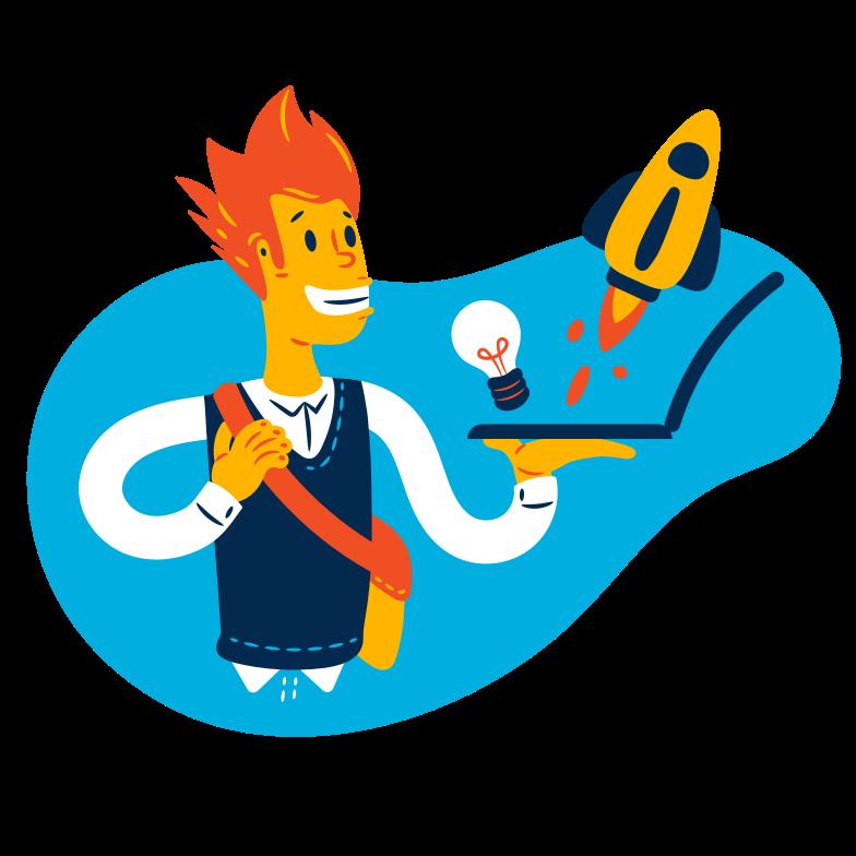 Startup Clipart illustration in PNG, SVG