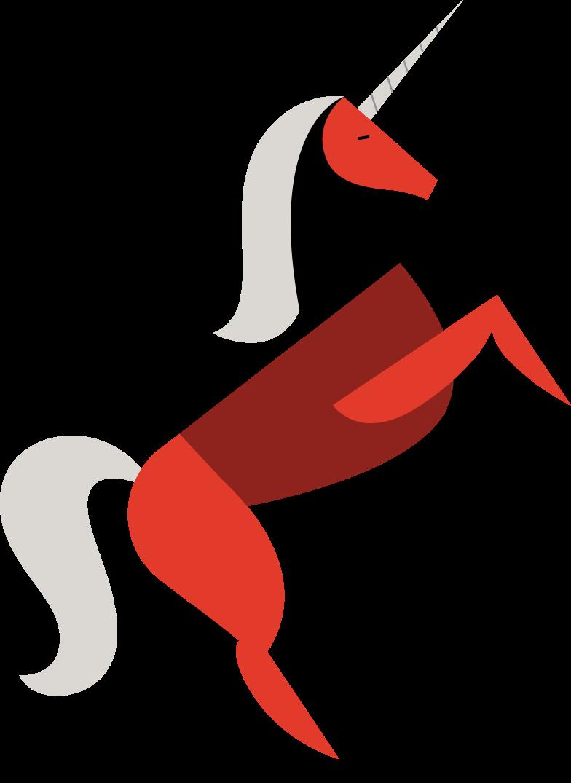 Ilustración de clipart de unicornio en PNG, SVG