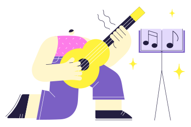 style Learning Music images in PNG and SVG | Icons8 Illustrations