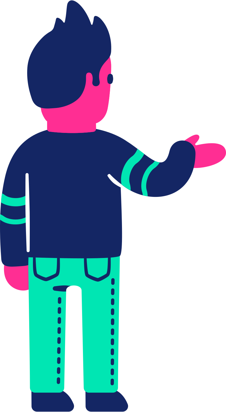 style man questioning back Vector images in PNG and SVG | Icons8 Illustrations