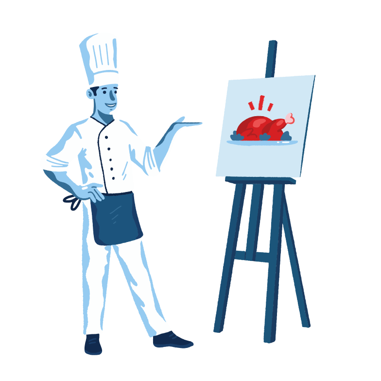 style Food painting Vector images in PNG and SVG | Icons8 Illustrations