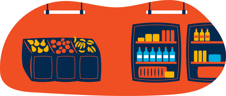 grocery store Clipart illustration in PNG, SVG