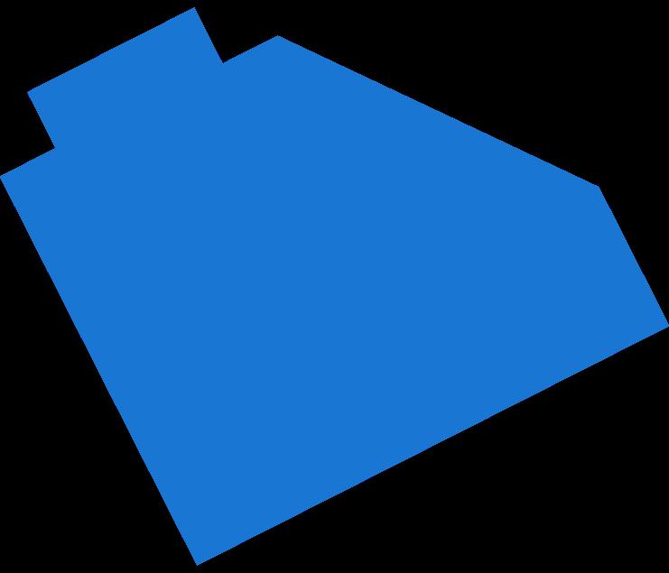 building block blue Clipart illustration in PNG, SVG