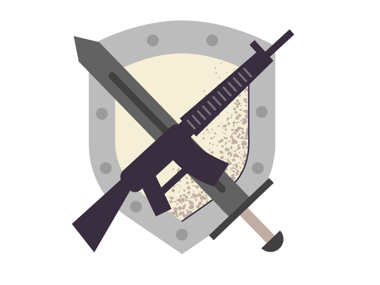 Weapon Clipart illustration in PNG, SVG