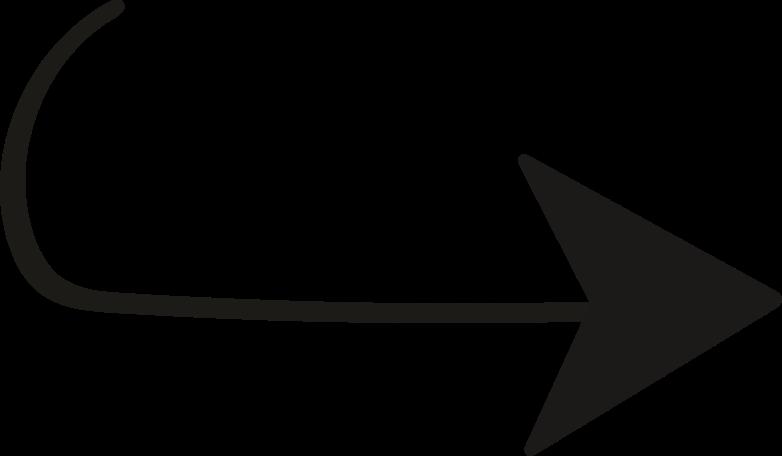tk black arrow right Clipart illustration in PNG, SVG