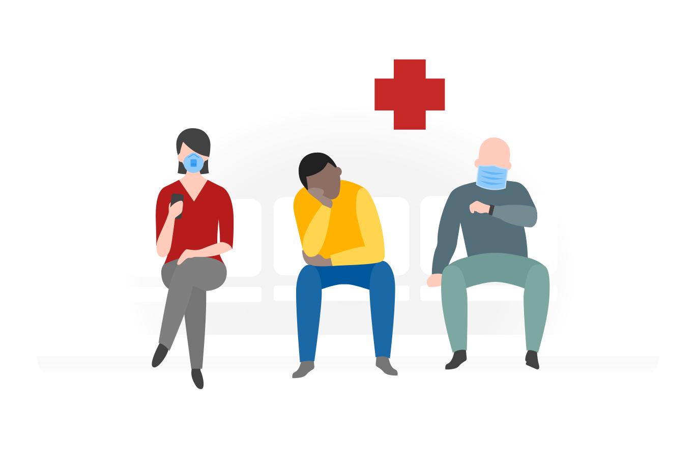 Doctor's visit Clipart illustration in PNG, SVG
