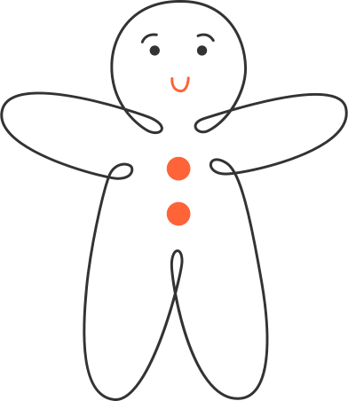style gingerbread man images in PNG and SVG   Icons8 Illustrations