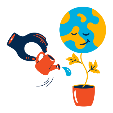 style Taking care of our planet images in PNG and SVG | Icons8 Illustrations