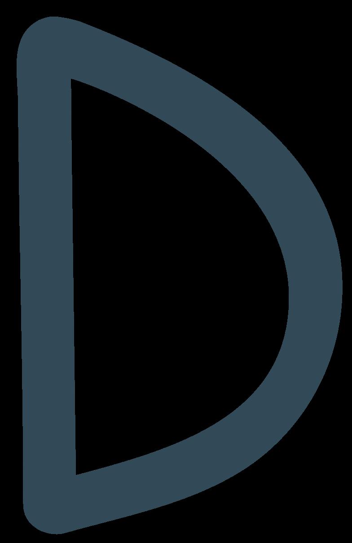 d dark blue Clipart illustration in PNG, SVG