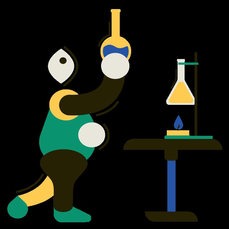 Chemistry Clipart illustration in PNG, SVG