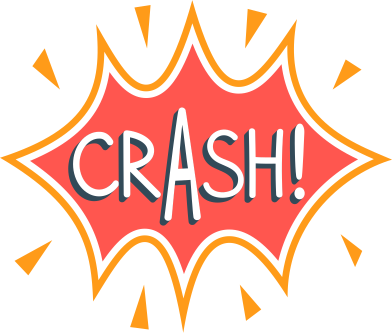 style crash Vector images in PNG and SVG | Icons8 Illustrations