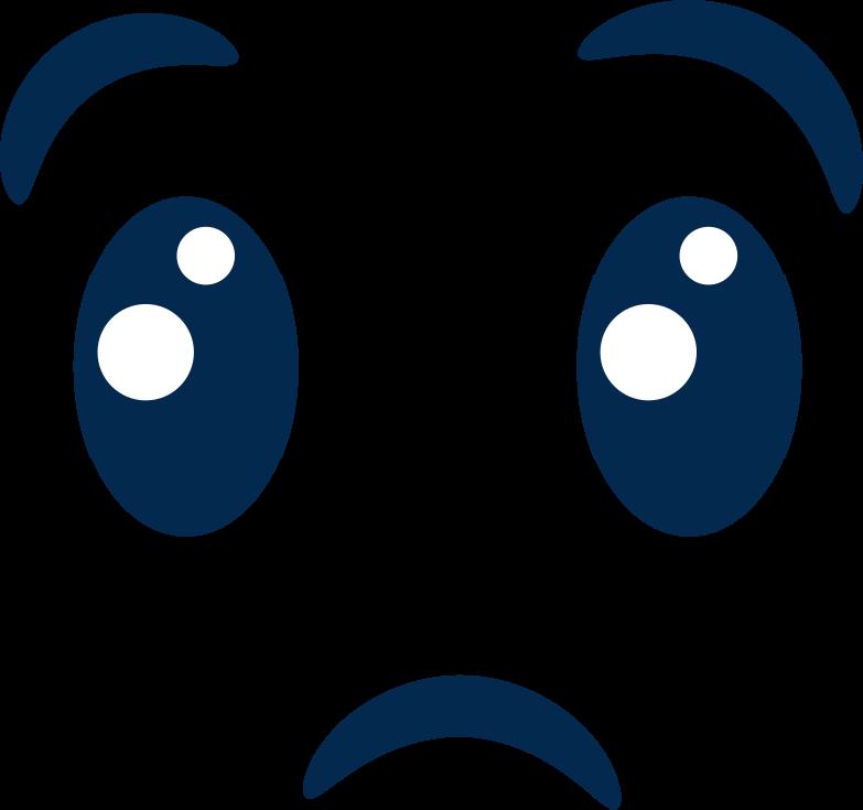emotion sad Clipart illustration in PNG, SVG