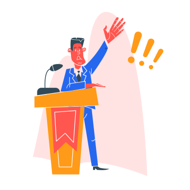 style Politician images in PNG and SVG | Icons8 Illustrations