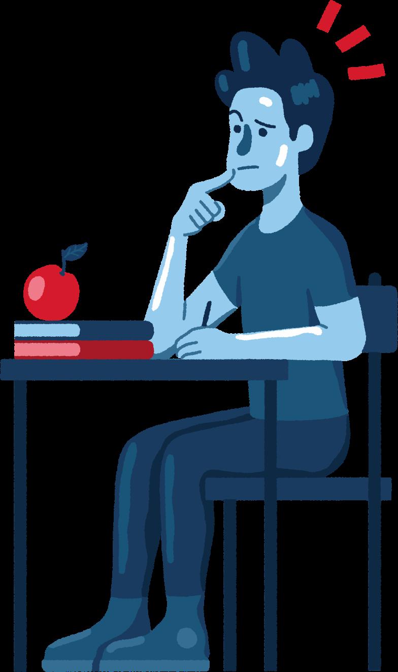 Schüler Clipart-Grafik als PNG, SVG