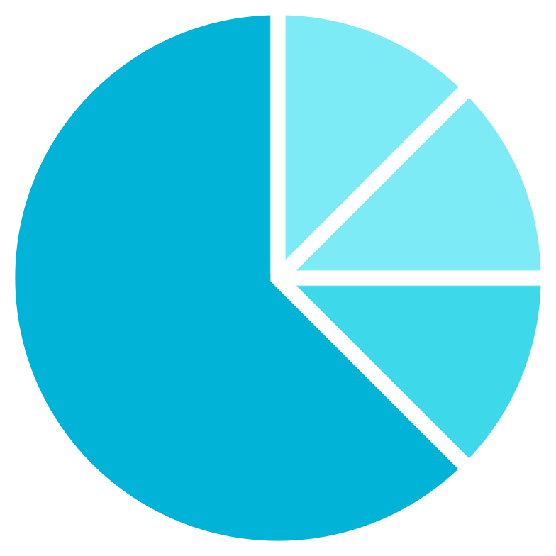 style e blue pie chart Vector images in PNG and SVG | Icons8 Illustrations