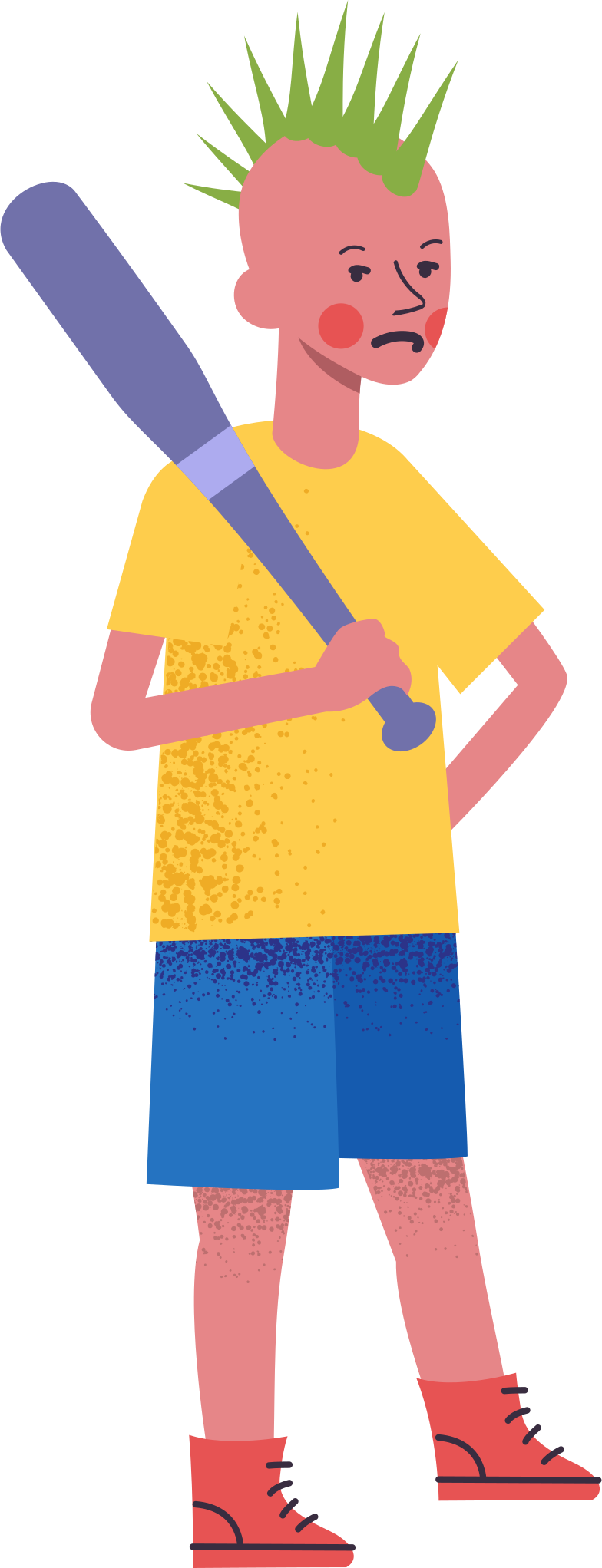 boy-with-bat Clipart illustration in PNG, SVG