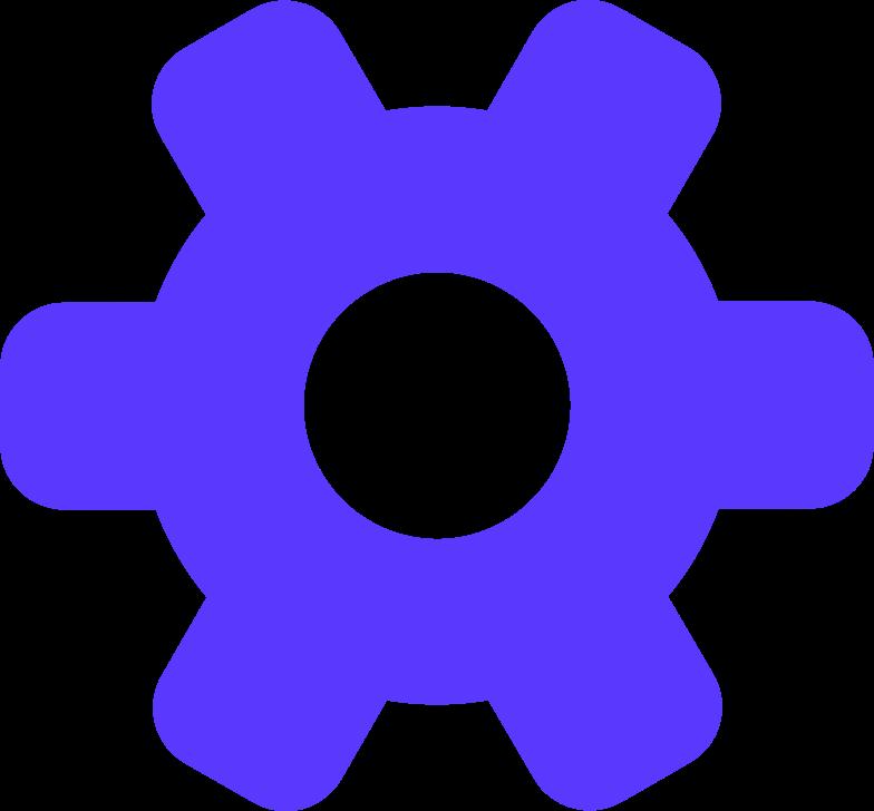 Ilustración de clipart de gear en PNG, SVG