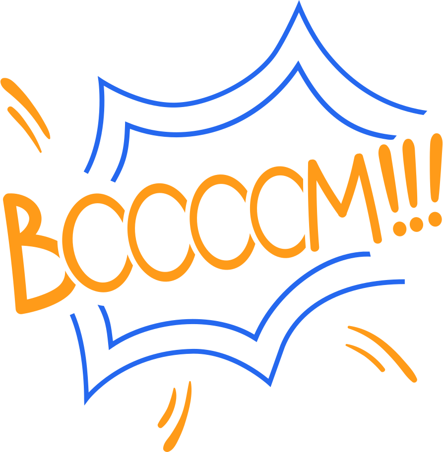 boom line Clipart illustration in PNG, SVG