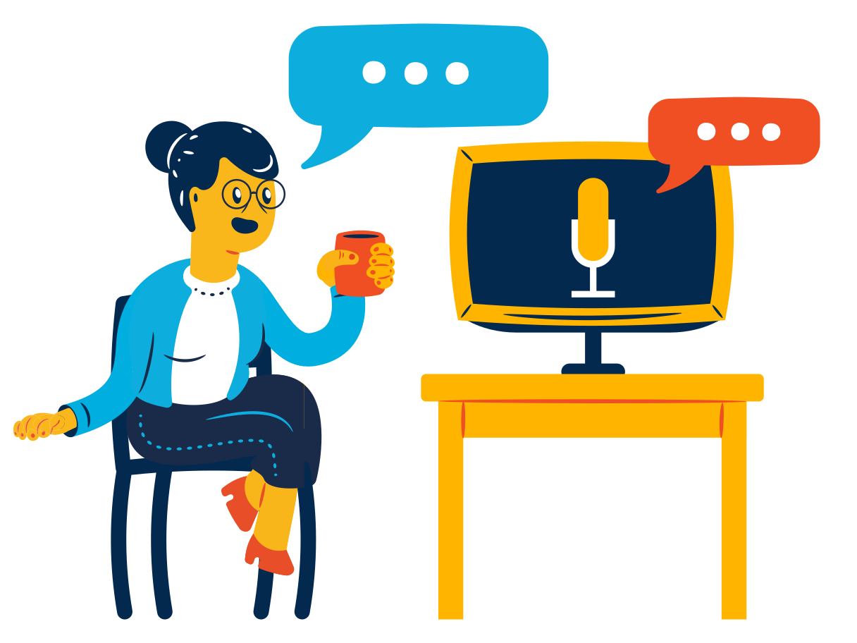 Voice assistant Clipart illustration in PNG, SVG